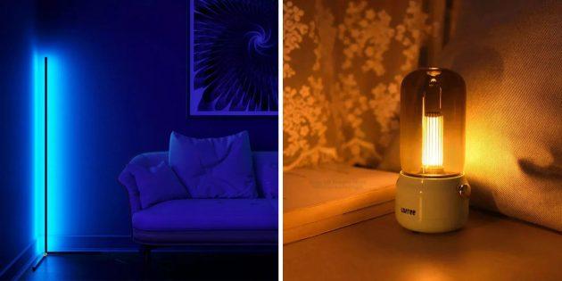 Что подарить мужчине на Новый год: декоративный светильник