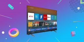 Надо брать: телевизор Toshiba с безрамочным 50-дюймовым экраном