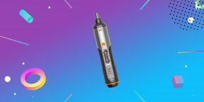 Надо брать: электроотвёртка Worx с набором из 26 бит