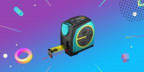 Надо брать: рулетка со встроенным лазерным дальномером от Mileseey