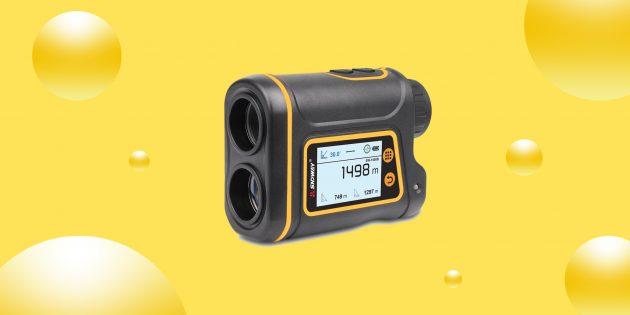 Надо брать: лазерный дальномер Sndway для спортивных соревнований и строительства