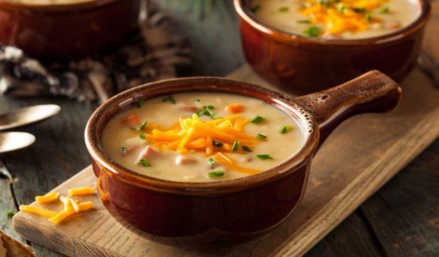 Пивной суп за 30 минут