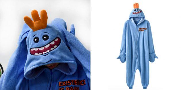 Уютная домашняя одежда с AliExpress: кигуруми «Мистер Мисикс»