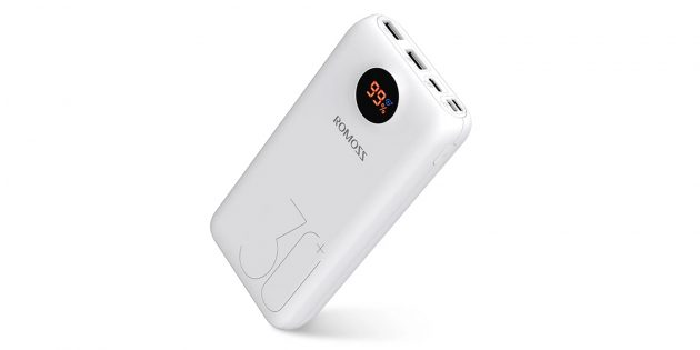Внешний аккумулятор Romoss SW30 Pro