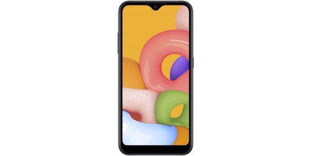 Какой смартфон купить в 2021году: Samsung Galaxy A01 (SM-A015F/DS)