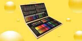 Надо брать: крутой набор для творчества из 220 предметов