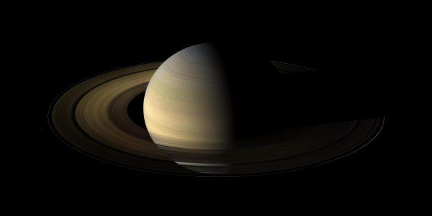 Правда о космосе: Сатурн не плавал бы в океане
