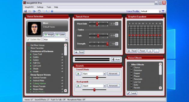 Программы для изменения голоса: MorphVOX JR и MorphVOX Pro