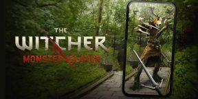 Мобильная The Witcher: Monster Slayer в стиле Pokemon Go вышла в России