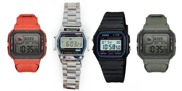 Amazfit Neo похожи на часы Casio