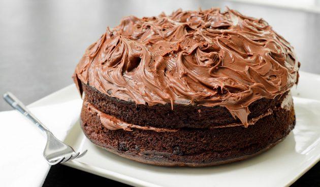 Шоколадный безглютеновый торт с секретным ингредиентом