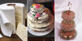 И в горе, и в радости: 12 примеров неудачных свадебных тортов