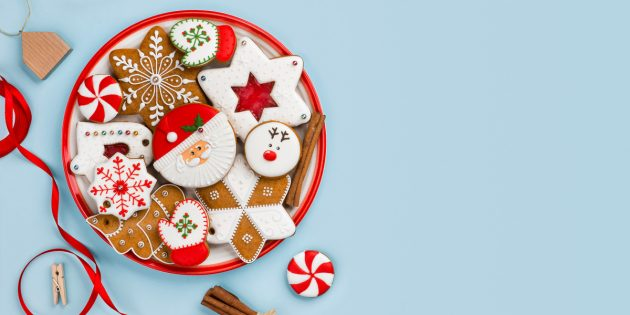 семейные новогодние традиции — это испечь домашнее новогоднее печенье