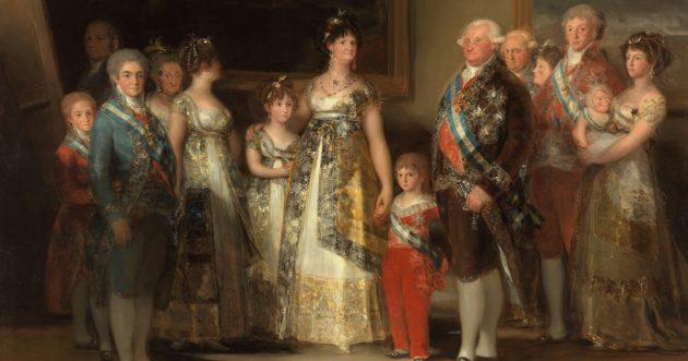 Семья Карла IV. Франсиско Гойя