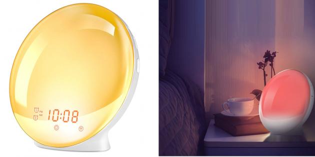 Надо брать: будильник с имитацией рассвета и заката