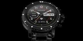 Citizen представила CZ Smart — свои первые умные часы на Wear OS