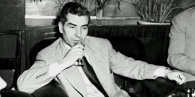 Лаки Лучиано в 1948 году