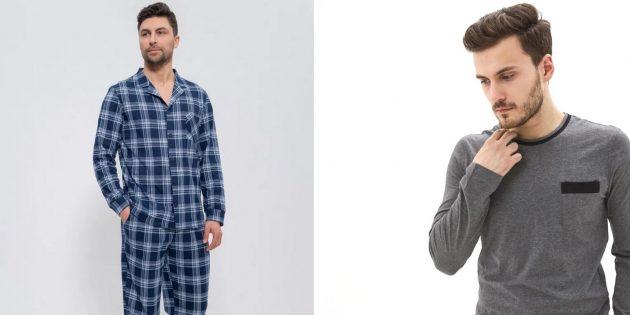 Что подарить мужу на Новый год: пижама