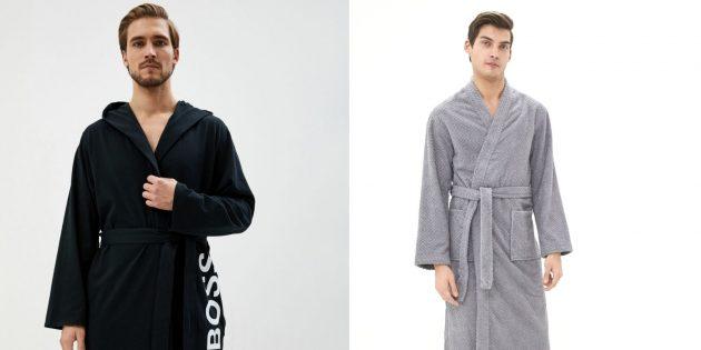 Что подарить мужу на Новый год: домашний халат