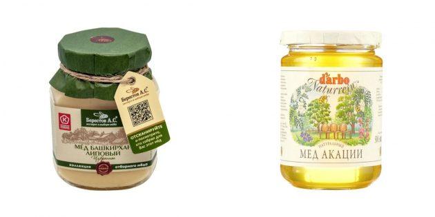 Подарки женщине на Новый год: мёд