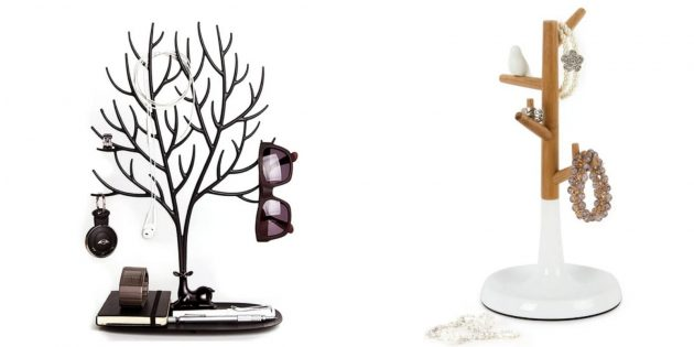 Что подарить жене на Новый год: подставка для украшений