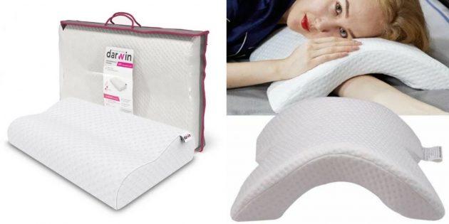 Что подарить жене на Новый год: подушка с эффектом памяти
