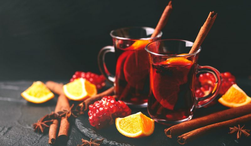 Learn How To make This Non-Alcoholic Mulled Wine From Pomegranate Juice