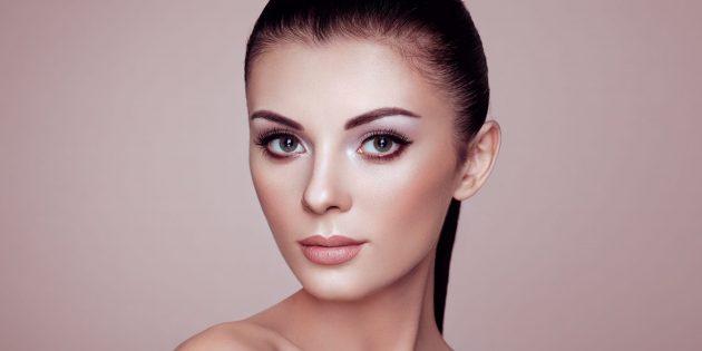 Новогодний макияж: нейтральный образ с акцентом на глаза