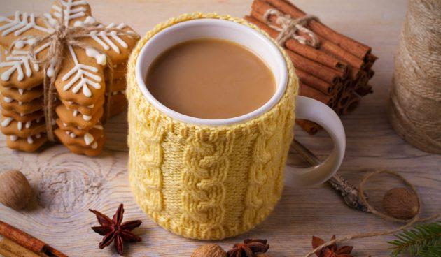 Ароматный шоколадный чай