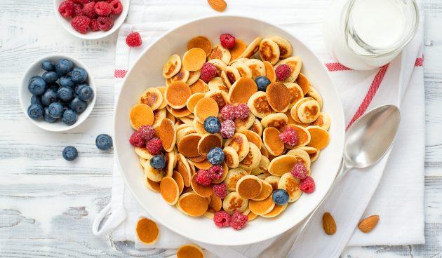 Завтрак за 15 минут: милейшие мини-панкейки из TikTok