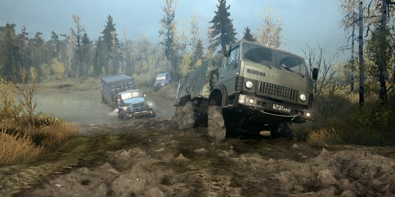 Epic Games Store раздаёт симулятор бездорожья MudRunner