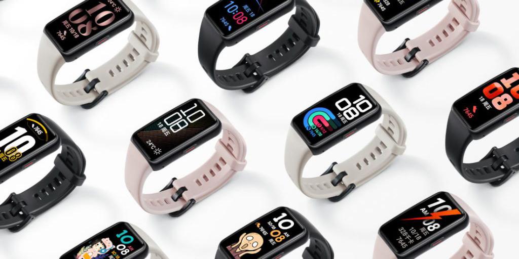 Huawei выпустила фитнес-браслет Honor Band 6 с NFC