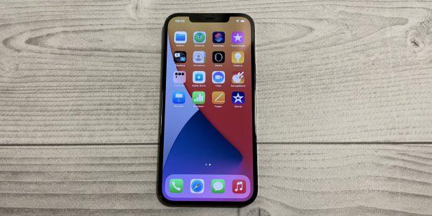iPhone 12Pro Max: корпус покрыт Ceramic Shield