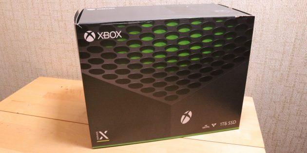 Упаковка Xbox Series X