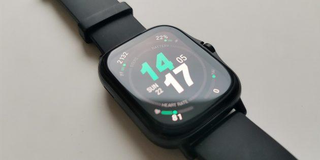 Экран часов Amazfit GTS 2
