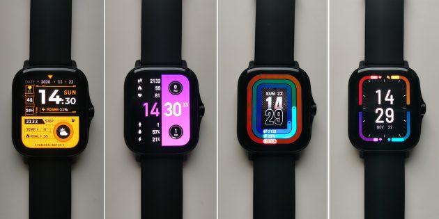 Циферблаты часов Amazfit GTS 2