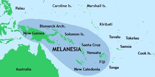 Карго-культ был распространён в Меланезии