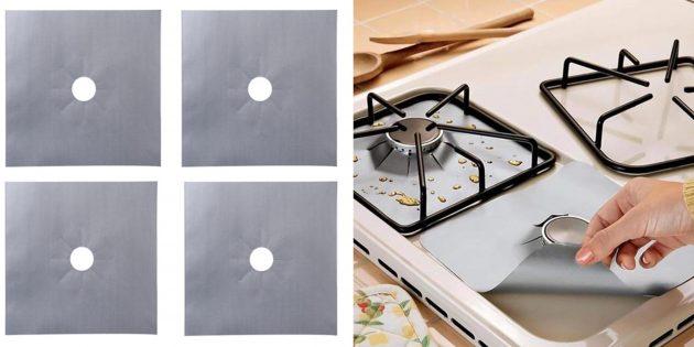 Накладки для газовой плиты