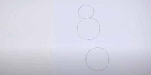 Нарисуйте приплюснутый круг