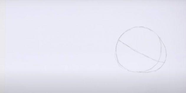 Как нарисовать кролика: проведите линию