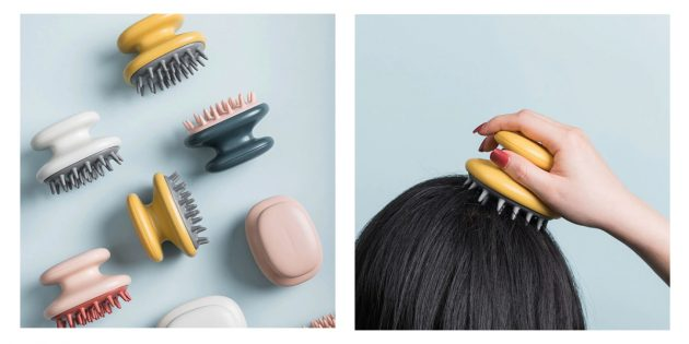 Щётка для массажа кожи головы