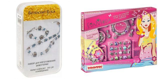 Что подарить девочке на Новый год: набор для создания украшений