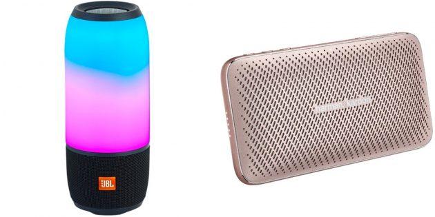 Подарки девочке на Новый год: портативная Bluetooth-колонка