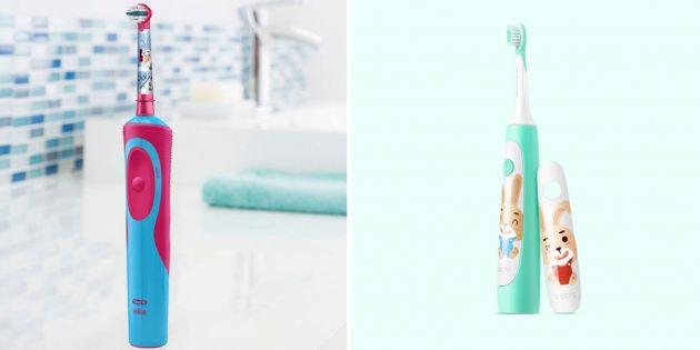 Умная зубная щётка