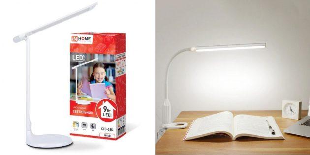 Подарки сестре на Новый год: настольная лампа