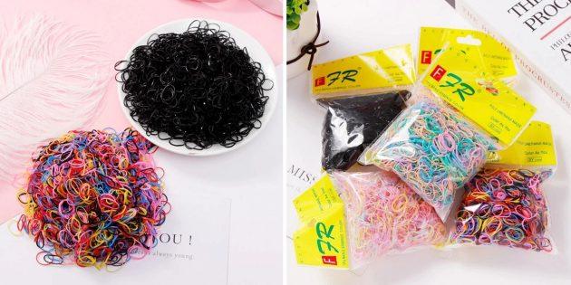 «Чёрная пятница» на AliExpress: резинки для волос