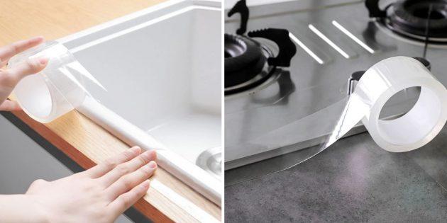Товары для кухни: клейкая лента