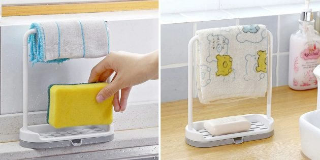 Товары для кухни: подставка для губки