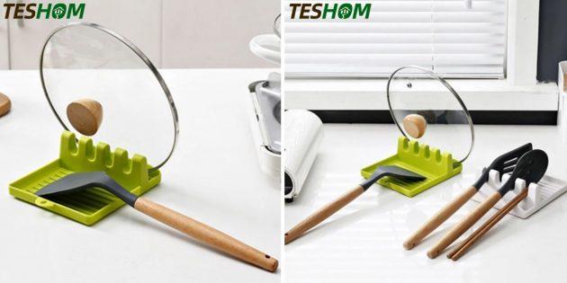 мелочи для кухни: подставка для крышки
