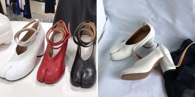 Туфли в виде копыт
